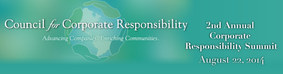 2014 Corporate Responsibility Summit